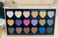 Шикарные тени от DoDo Girl сердечки 105-18