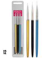 Набор кистей для дизайна ногтей