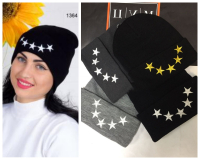 Шапка со звездами