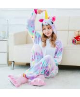 Кигуруми для взрослых пижамка Единорог звездная