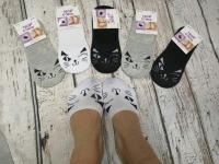Невидимые носки подмигивающий котик 8541-94 Новая цена