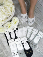 Женские невидимые носки кисуля 639