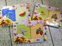 Набор полотенец для рук 2 шт 30х60 фрукты_Новая цена