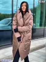 Болоневое пальто 902 Каппучино SV