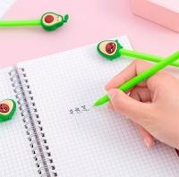 Ручка гелевая авокадик