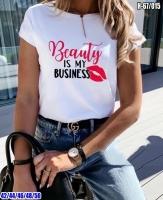 Футболка Beauty is me Business Белая SV