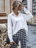 Рубашка классическая белая лайт O114