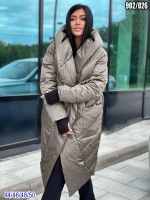 Болоневое пальто 902 Бронзовый металлик SV