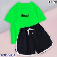 Шорты и салатовая футболка ANGEL SV