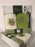 Набор из двух полотенец OLIVA 50*30