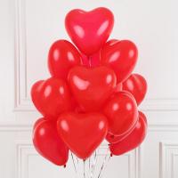 Воздушные шарики сердце 32 см набор 50 штук 08-16/015