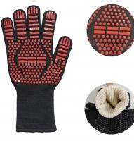 Огнеупорная термостойкая двухсторонняя перчатка для барбекю