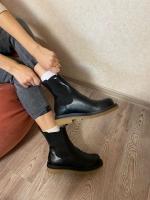Ботинки челси  экокожа подростковые RZ09