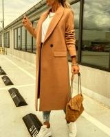 Пальто с кашемиром EXCLUSIV мокрый песок A116