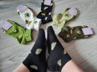 Носки низкие авокадо