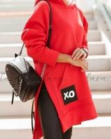 Туника XO утепленная красная A116