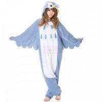 Кигуруми пижамка Совушка для взрослых голубая