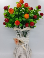 Букет искусственные ягодки из 3 кустиков