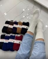 Женские носки с мехом куницы M2-11