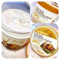 Крем с муцином улитки Wokali Snail Repairing Cream