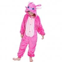 Детский кигуруми Розовый Стич