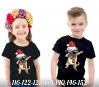 Детская футболка Хайп Пёсель черная Xi