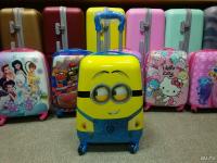 Детский чемодан пластик разные Новая цена