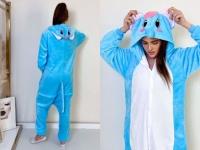 Кигуруми пижамка Голубой Слоник