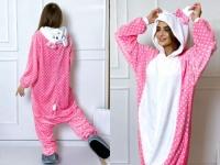 Кигуруми для взрослых пижамка Китти