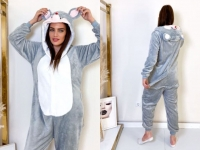Кигуруми для взрослых пижамка Серая Мышка