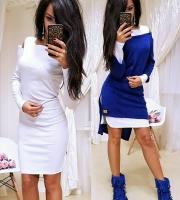 Двойка платье и туника яр-синяя RH RX