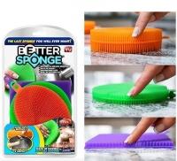 Силиконовые мочалки для кухни Better sponge 3 шт в наборе