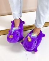 Домашние фиолетовые единорожки