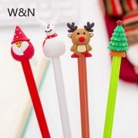 Ручка гелевая новогодняя